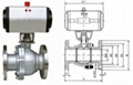 天津氣動不鏽鋼球閥Q641F-