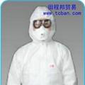 3M 4620白色帶帽連體防護服 1