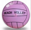 single color printed PVC volleyball