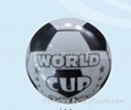single color printed PVC football