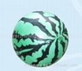 single color printed PVC ball