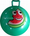 jumping PVC ball