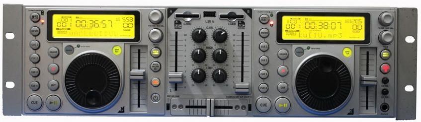 Professional Dual USB&SD DJ Player With  Mixer 1