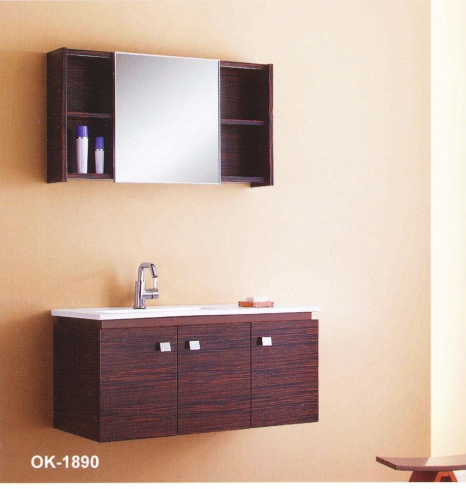 2011 New Style Solid Wood Bathroom Cabinet Vanity Ok1890 Louisa China Manufacturer