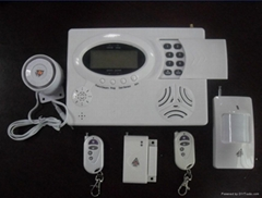 安博士GSM/电话双网报警器