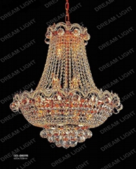 crystal chandelier lamp