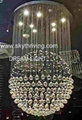 modern crystal chandelier lamp lights