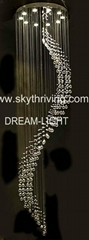 crystal lamp ceiling pendant