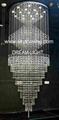 modern crystal celiling light 2
