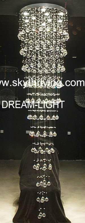 modern crystal celiling light 3