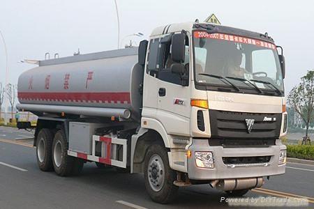 供应欧曼后双桥运油车BJ5257GNFJH-S1 1
