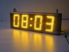 Four Digit Clocks LED Sign
