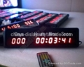 Countdown Timer LED Sign
