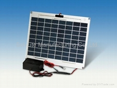 Solar Lead-Acid Battery Charge Maintainer