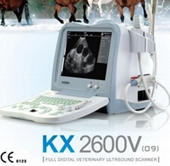 KX2600(09)Vet portable ultrasound scanner