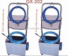 广州启星软轴电动中央空调冷凝器管道清洗机