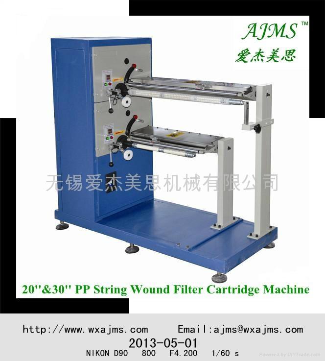 PP棉繞線濾芯機器 1