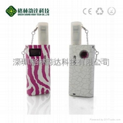 Hot! Christmas gift E-cigarette GREEN-L1,with Variable Voltage and clearomizer