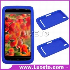 2011 new design for Silicone Rubber Skin Case for Dell mini5