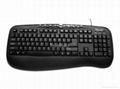 多媒体键盘,有线键盘,外贸畅销