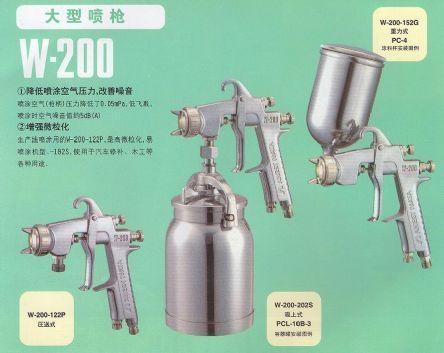 日本岩田W-200大型噴槍 2