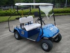 广东东之尼二座电动高尔夫球车