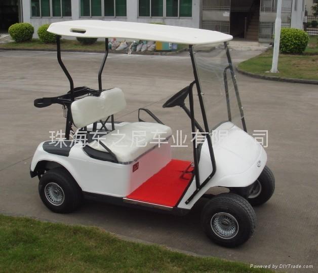 广东东之尼二座电动高尔夫球车 3