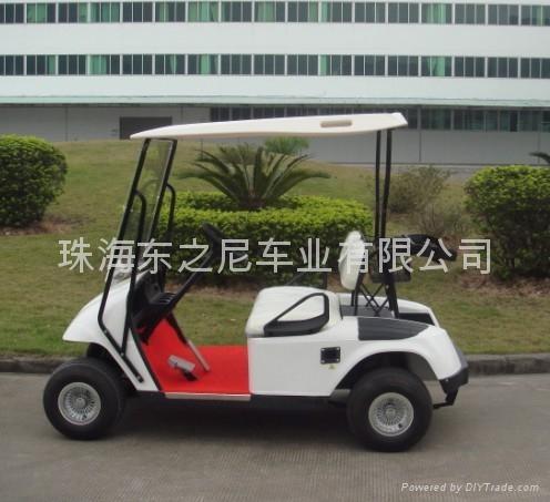 广东东之尼二座电动高尔夫球车 4