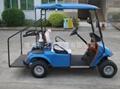 广东东之尼二座电动高尔夫球车 5
