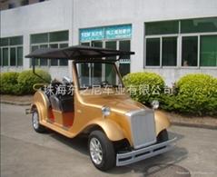 广东深圳六座豪华电动老爷车