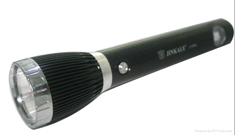 JY8999 LED Rechargeable flashlight torchlight 1