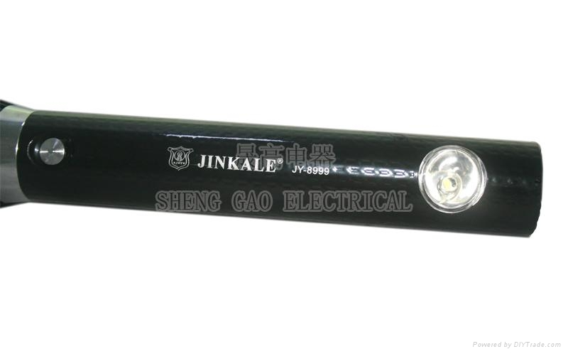 JY8999 LED Rechargeable flashlight torchlight 3