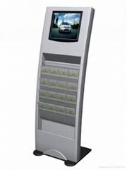 上海17寸高清框架廣告機