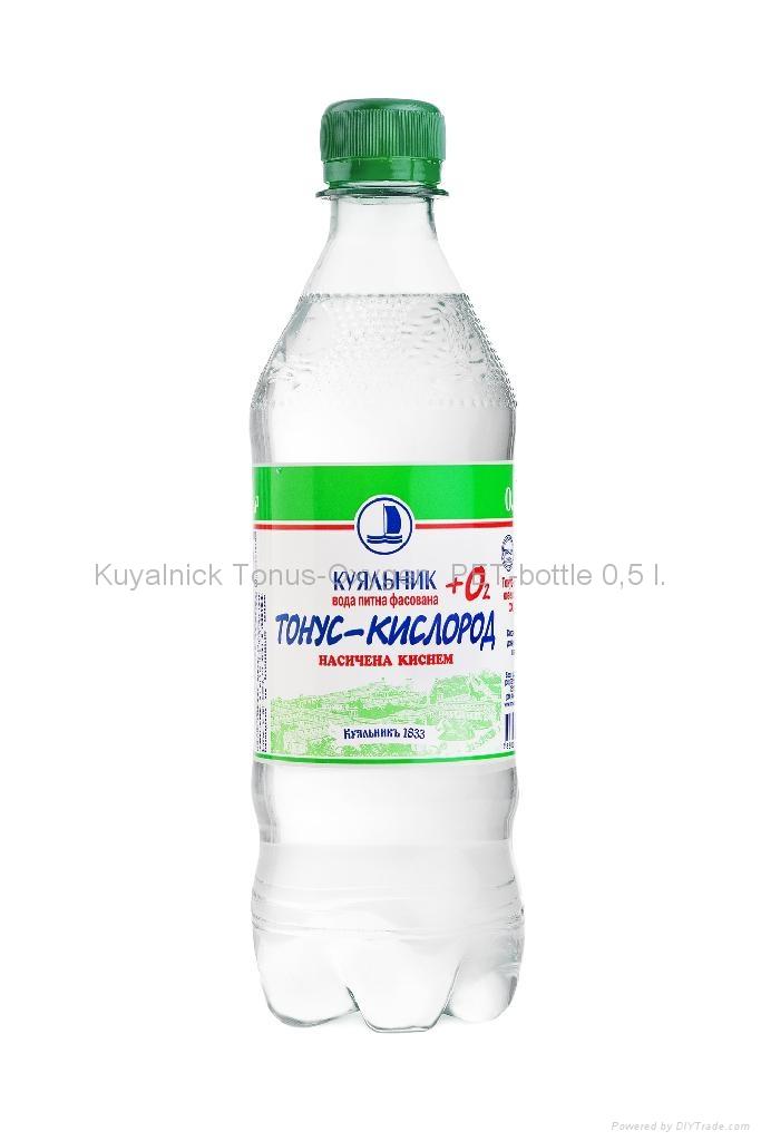 Drinking bottled oxygenated water kuyalnick tonus oxygen for Diy mineral water bottle
