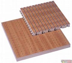 低/中/高密度槽孔吸音板