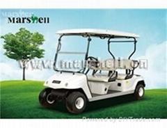 玛西尔四人座电动高尔夫球车