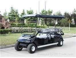 玛西尔六人座电动高尔夫球车 1