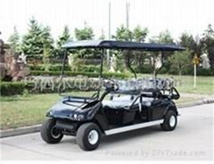 玛西尔六人座电动高尔夫球车
