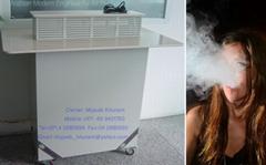 Remove tobacco smell