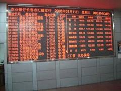 深圳供合肥大學城LED屏