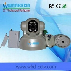 CCTV Network Camera with Door Contact