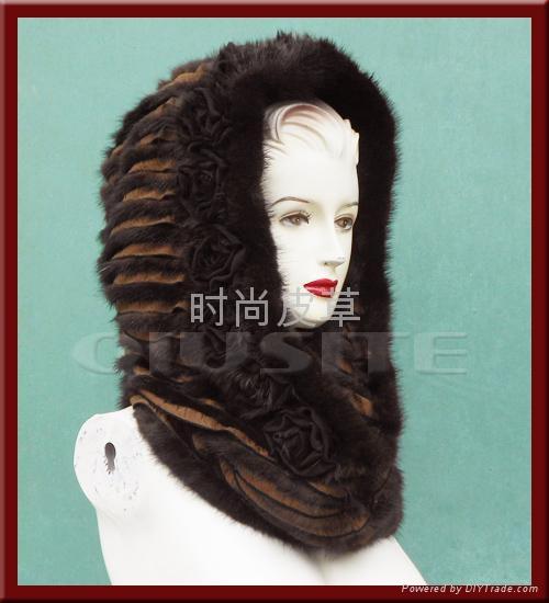 機縫脖套帽 2