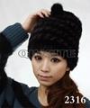 水貂編織女士帽 3