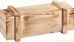 Wooden Wine Casket Box