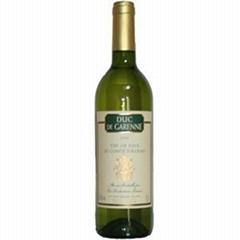 法国香卡隆干白葡萄酒