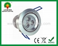 CREE 3W LED ceiling light with CE RoHS and 2 years warranty