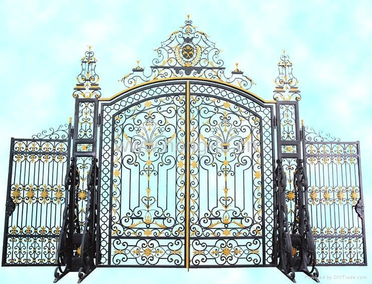 wrought iron gate(HT-G1001) 1