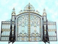 wrought iron gate(HT-G1001) 1