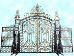 wrought iron gate(HT-G1001)