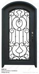 custom wrought iron door(HT-201A)